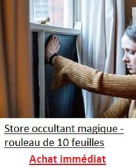 Store occultant magique ™