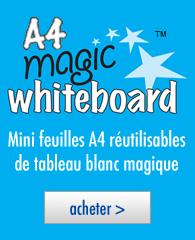 Tableau blanc magique A4 ™