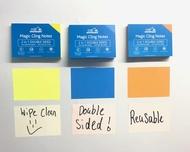 Multi Pack - Notes autocollantes - JAUNE, BLEU, ORANGE