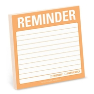 Knock Knock Reminder (Anglais) - notes collantes