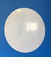 1 cercle tableau blanc de diamètre 60 cm.