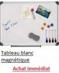 Tableau blanc magnétique