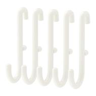 SKÅDIS Crochet pour panneau perforé, blanc - 5 pièces - IKEA