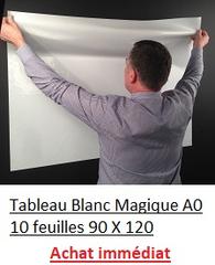 Tableaux Blancs 90 x 120