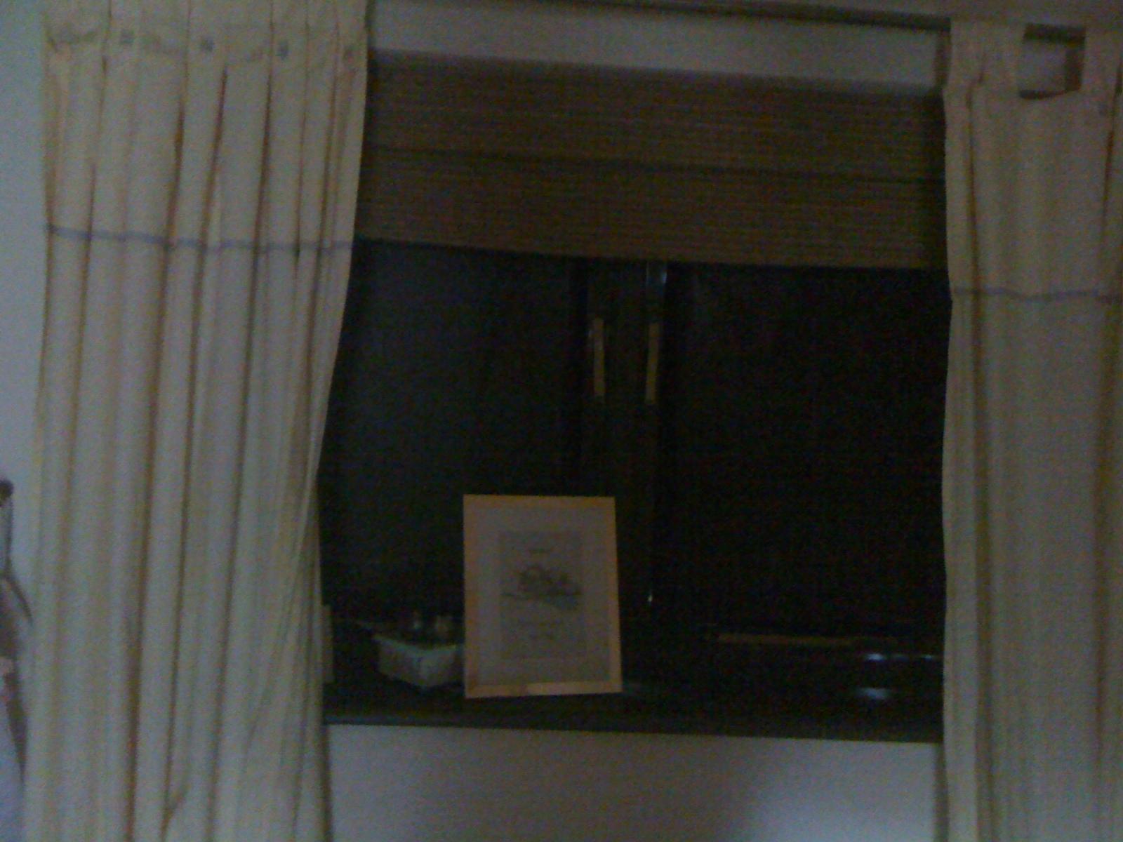 Magic Blackout Blind on both windows