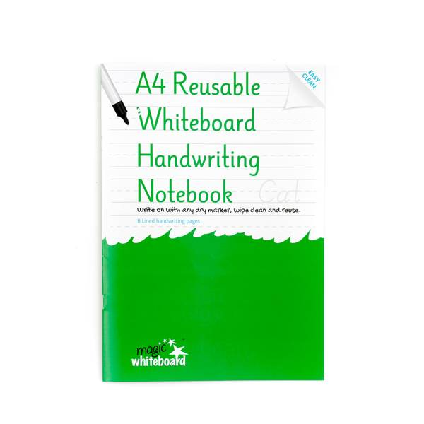 a4 reusable whiteboard handwriting notebook