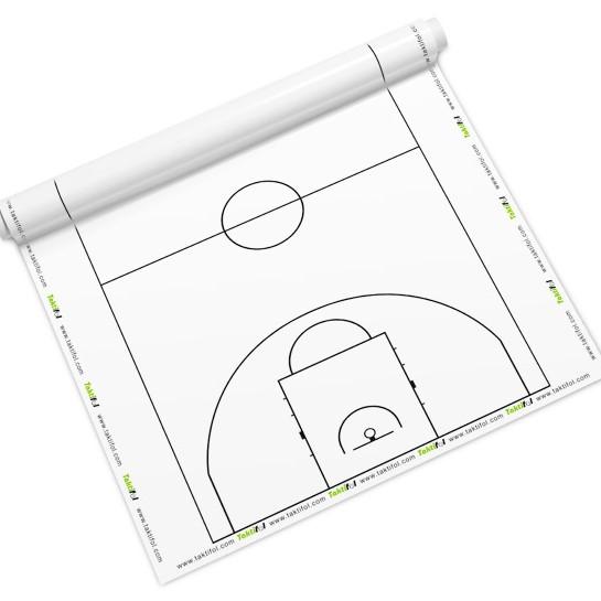 Tableau blanc sur les tactiques de basketball - Tableau blanc pour l'entraînement de basketbal