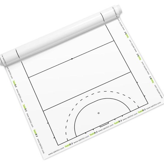 Tableau blanc sur les tactiques de hockey