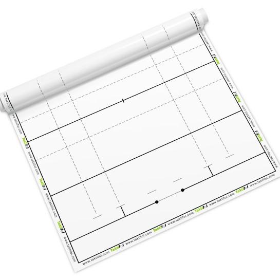 Tableau blanc sur les tactiques de rugby - Tableau blanc pour l'entraînement de rugby