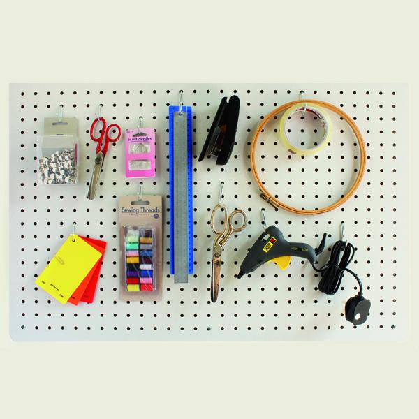🛍️ Panneau perforé | Le panneau perforé vous permet d'organiser chaque pièce facilement | panneau perforé magnétique | panneau perforé Ikéa