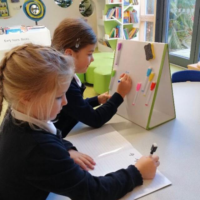 🇫🇷🧲 Tableaux blancs de table d'école | 🧲 Magnétique Effaçable à Sec pour École