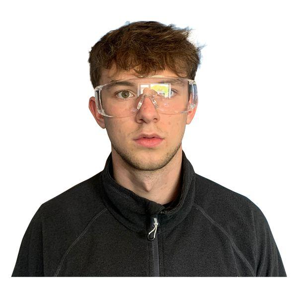 Eye shield glasses