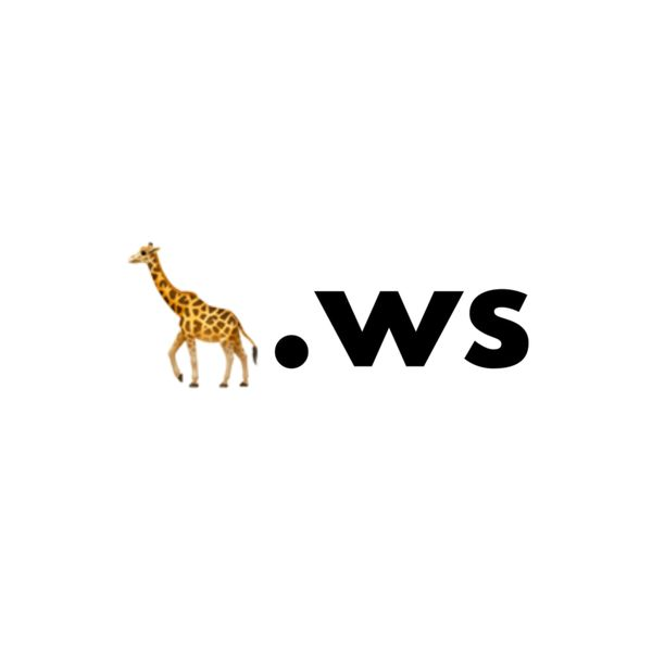 Buy 🦒.ws Single Emoji Domain