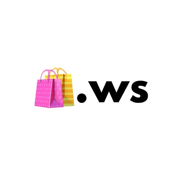 🛍.ws Single Emoji Domain