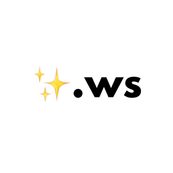 ✨.ws Single Emoji Domain